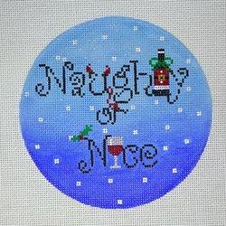 "FS-Naughty or Nice Wine 5"" Round 18m"